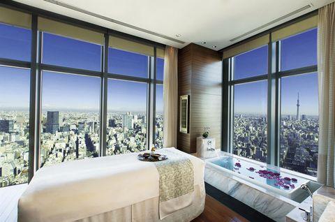 Bedroom, Property, Room, Interior design, Furniture, Building, Real estate, Architecture, House, Bed,