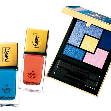 Product, Beauty, Yellow, Eye, Cosmetics, Material property, Electric blue, Liquid, Tints and shades, Eye shadow,