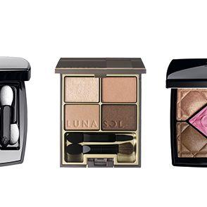 Eye shadow, Eye, Cosmetics, Product, Beauty, Brown, Organ, Human body, Powder, Material property,