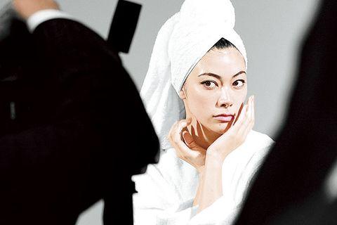 Face, Photograph, Skin, Beauty, Eyebrow, Head, Hand, Eye, Lip, Headgear,