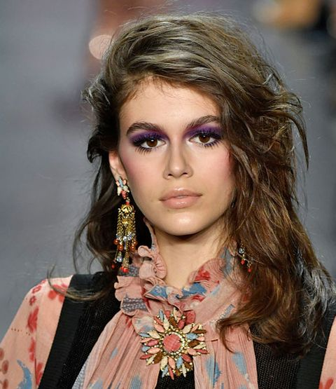 Hair, Face, Hairstyle, Eyebrow, Fashion model, Fashion, Beauty, Lip, Chin, Blond,