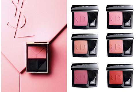 Pink, Product, Eye shadow, Eye, Beauty, Cosmetics, Organ, Human body, Material property, Gloss,
