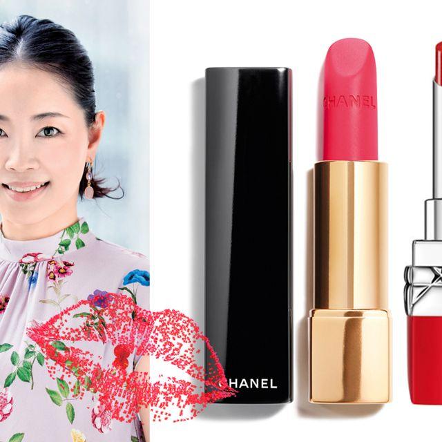 Lip, Pink, Lipstick, Red, Beauty, Product, Cosmetics, Skin, Cheek, Material property,
