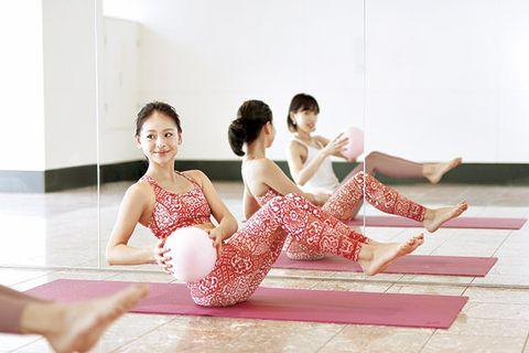 Physical fitness, Sitting, Footwear, Leg, Sportswear, Fun, Leisure, Shoe, Dance, Yoga,