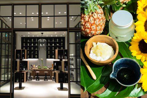 Brunch, Pineapple, Food, Ananas, Table, Room, Interior design, Breakfast, Dish, Meal,