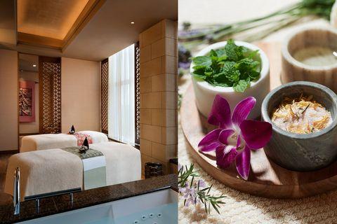 Room, Interior design, Table, Furniture, Living room, Plant, Boutique hotel, Building, Cuisine, Dish,