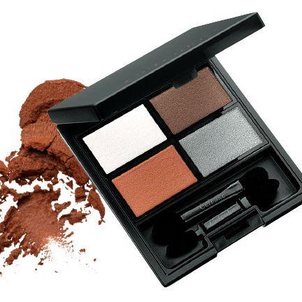 Eye shadow, Eye, Product, Brown, Cosmetics, Beauty, Organ, Powder, Human body, Powder,