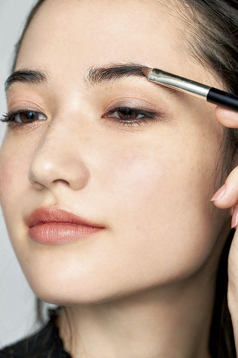 Eyebrow, Face, Hair, Eyelash, Cheek, Eye, Skin, Nose, Lip, Eye shadow,