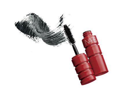 Red, Cosmetics, Mascara, Beauty, Eyelash, Lipstick, Material property, Liquid,