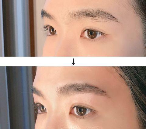 Eyebrow, Face, Forehead, Skin, Nose, Eyelash, Eye, Cheek, Head, Beauty,