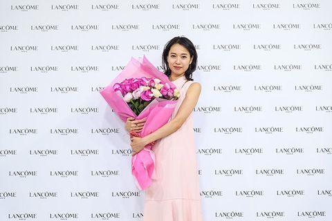 Pink, Font, Smile, Plant, Flower,