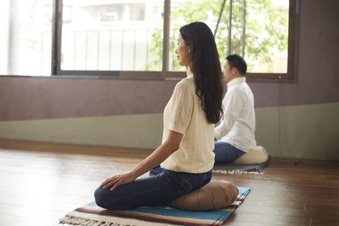 Sitting, Shoulder, Yoga, Meditation, Physical fitness, Joint, Knee, Leg, Floor, Neck,