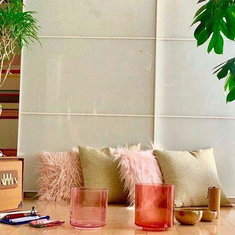Flowerpot, Green, Houseplant, Leaf, Room, Wall, Table, Furniture, Living room, Tree,