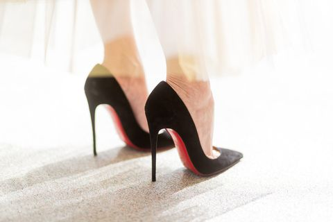 High heels, Footwear, Red, Leg, Shoe, Court shoe, Pink, Human leg, Basic pump, Ankle,