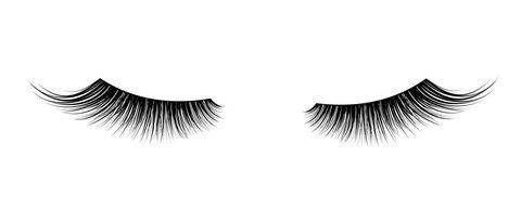 Eyelash, Eye, Cosmetics, Eyebrow, Eyelash extensions, Beauty, Organ, Black-and-white,