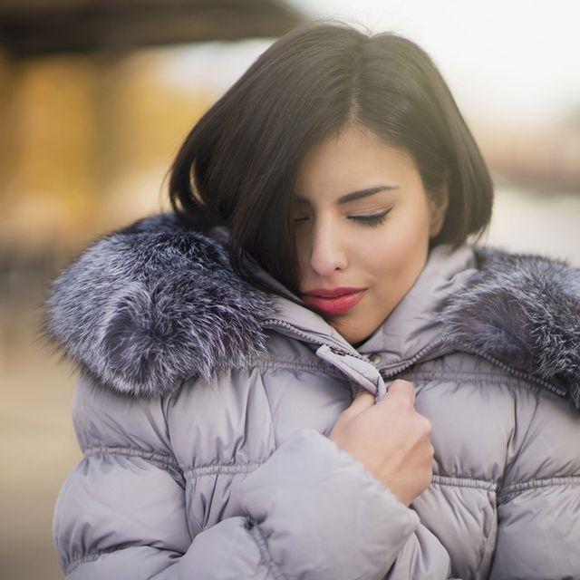 Hair, Photograph, Skin, Fur, Beauty, Lip, Fur clothing, Eye, Snapshot, Black hair,