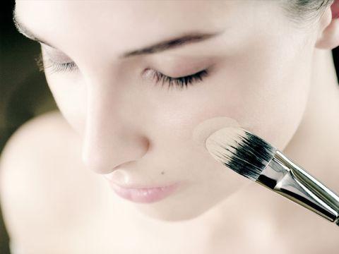 Face, Skin, Eyelash, Eyebrow, Cheek, Nose, Brush, Beauty, Eye, Lip,