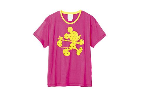Clothing, T-shirt, Pink, Active shirt, Sleeve, Product, Yellow, Violet, Magenta, Purple,