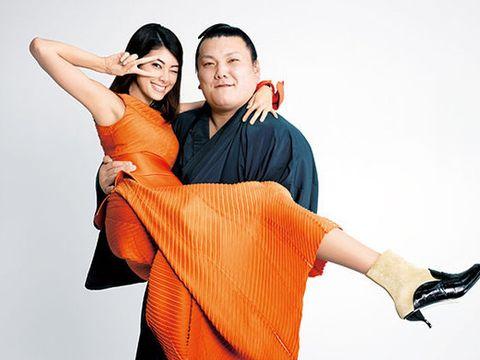 Orange, Arm, Dance, Shoulder, Fun, Gesture, Tango, Event, Hug, Happy,