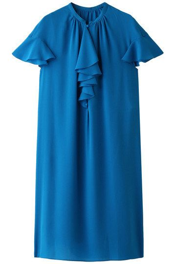 Clothing, Blue, Aqua, Sleeve, Turquoise, Dress, Teal, Azure, Electric blue, Day dress,