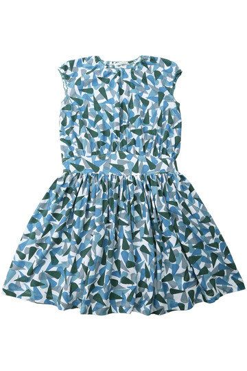 Clothing, Day dress, Dress, Aqua, Blue, Product, Turquoise, Cocktail dress, Pattern, Sleeve,