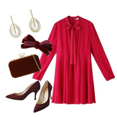 Clothing, Red, Pink, Maroon, Sleeve, Footwear, Outerwear, Dress, Magenta, Button,