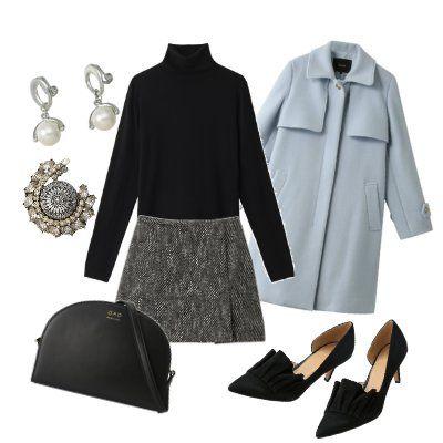 Clothing, Black, White, Sleeve, Outerwear, Footwear, Fashion, Coat, Blouse, Dress,