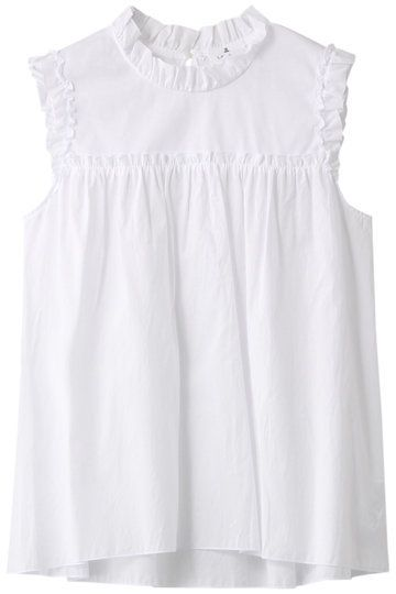 Clothing, White, Blouse, Sleeveless shirt, Sleeve, Outerwear, Dress, Neck, Top, Day dress,