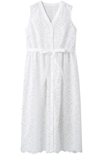 Clothing, White, Dress, Day dress, Cocktail dress, Sleeve, Cover-up, A-line, Lace,