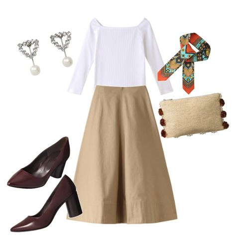 Clothing, White, Footwear, Brown, Fashion, Dress, Shoe, Beige, Outerwear, Costume,