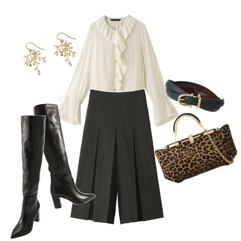 Clothing, White, Black, Footwear, Fashion, Sleeve, Outerwear, Blouse, Trousers, Beige,