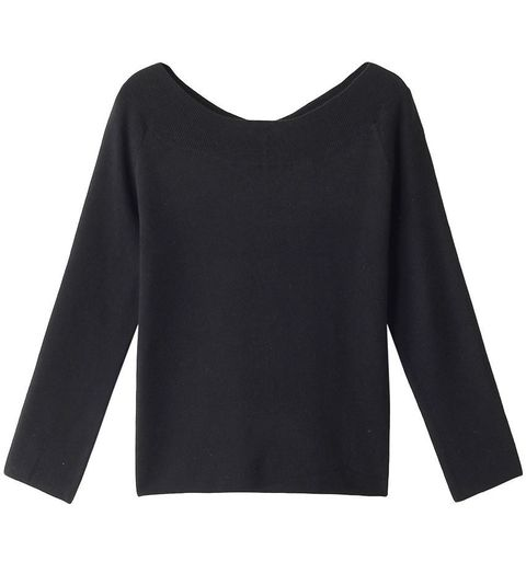 Clothing, Sleeve, Black, Long-sleeved t-shirt, Neck, T-shirt, Blouse, Jersey, Shoulder, Outerwear,