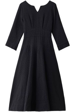 Clothing, Black, Dress, Day dress, Sleeve, Little black dress, Cocktail dress, Outerwear, A-line, Robe,