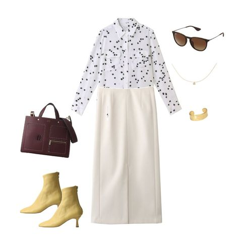 White, Clothing, Product, Footwear, Brown, Beige, Sleeve, Dress, Design, Outerwear,