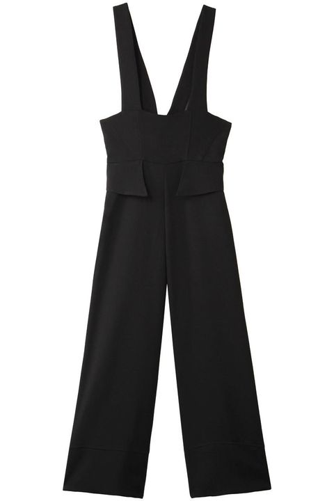 Clothing, Black, One-piece garment, Overall, Dress, Outerwear, Formal wear, Trousers,