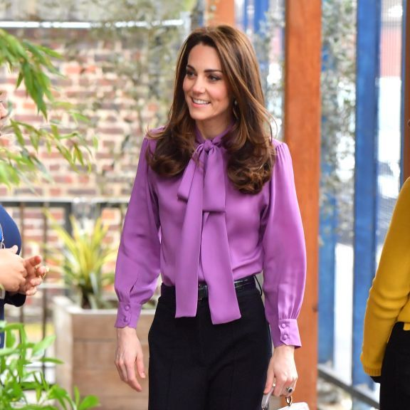 Clothing, Purple, Violet, Pantsuit, Suit, Formal wear, Fashion, Pink, Blouse, Outerwear,