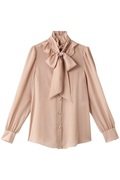 Clothing, Collar, Outerwear, Sleeve, Blouse, Beige, Neck, Top, Shirt, Button,