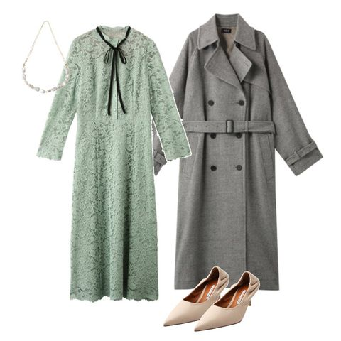 Clothing, Dress, Outerwear, Sleeve, Coat, Robe, Trench coat, Overcoat, Day dress, Pattern,