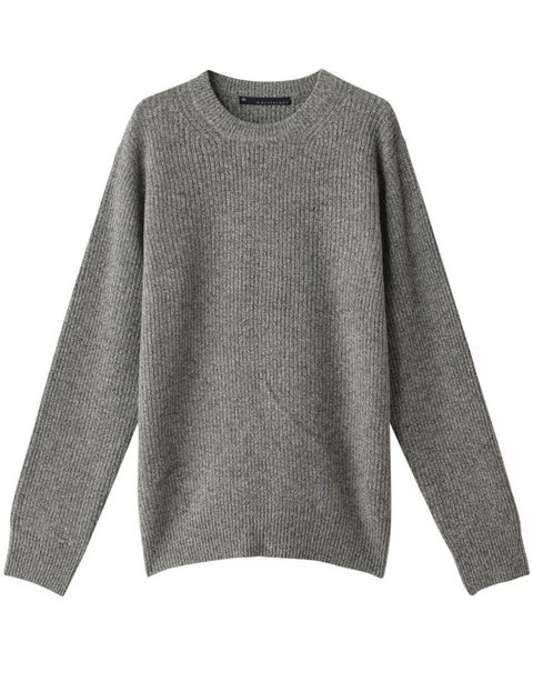 Clothing, Sleeve, Outerwear, Long-sleeved t-shirt, Grey, Sweater, Jersey, T-shirt, Wool, Top,