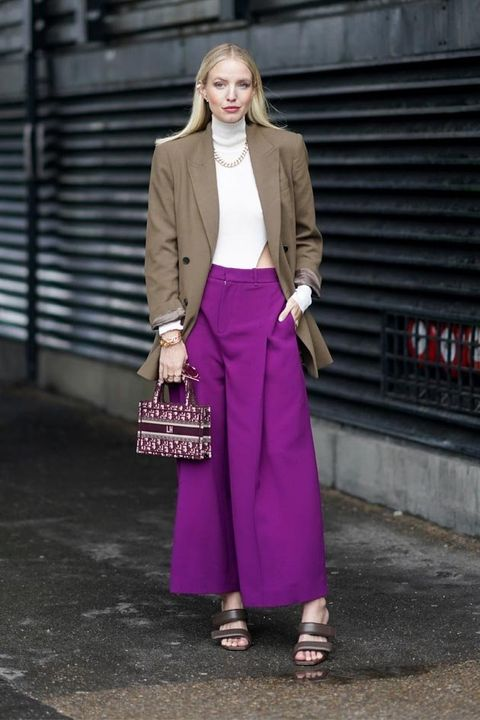 Clothing, Street fashion, Pink, Purple, Fashion, Snapshot, Brown, Outerwear, Magenta, Waist,