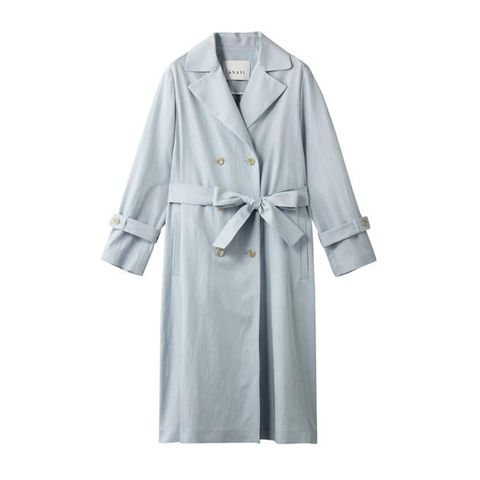 Clothing, Robe, Outerwear, Trench coat, Coat, Dress, Nightwear, Sleeve, Overcoat, Gown,