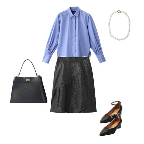 Clothing, Blue, Footwear, Sleeve, Blouse, Shoe, Outerwear, Dress, Electric blue, Leather,