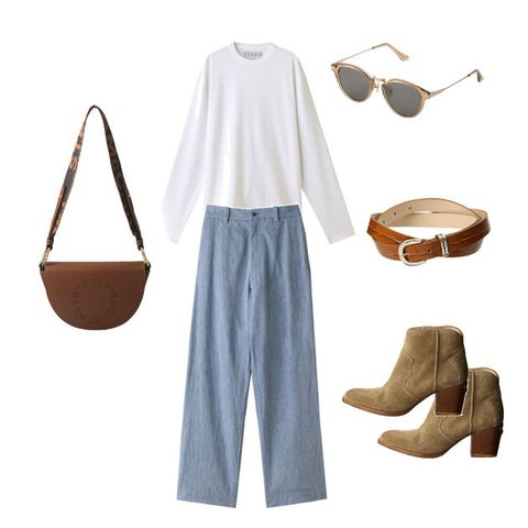 Clothing, White, Jeans, Denim, Sleeve, Trousers, Shirt, Beige, Blouse, Top,