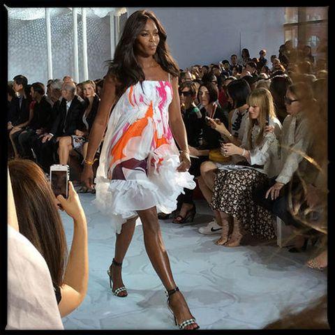 Hair, Leg, Event, Human body, Fashion show, Shoulder, Runway, Fashion model, Style, Dress,