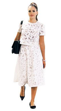 Clothing, Product, Sleeve, Shoulder, Standing, Photograph, Joint, White, Dress, Formal wear,