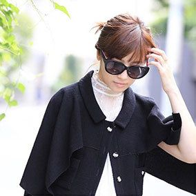 Clothing, Eyewear, Glasses, Vision care, Sunglasses, Goggles, Outerwear, Style, Street fashion, Collar,