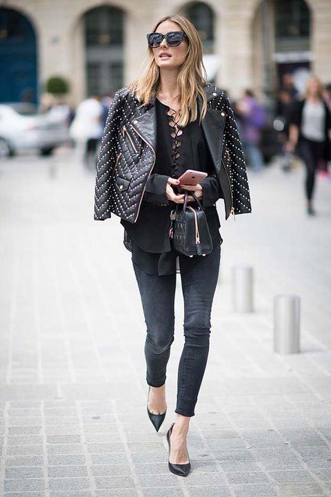 Clothing, Eyewear, Brown, Sleeve, Textile, Photograph, Outerwear, White, Sunglasses, Street,