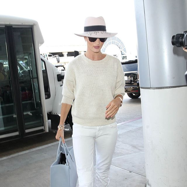 Clothing, Shoulder, Hat, Textile, Joint, White, Outerwear, Bag, Style, Street fashion,