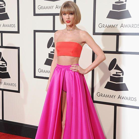 Shoulder, Pink, Magenta, Dress, Style, Flooring, Waist, Formal wear, Gown, Eyelash,