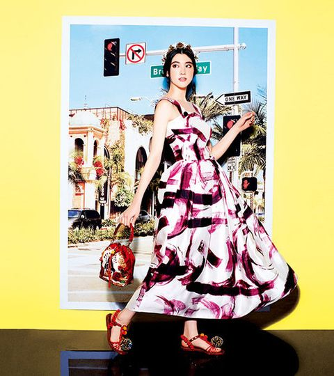 Dress, Costume design, Day dress, Fashion illustration, Gown, One-piece garment, Costume, Poster, Illustration, Ball,